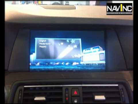 BMW iDrive CIC Video interface F10 avi