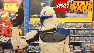 The World's Biggest Lego Captain Rex - Lego Star Wars