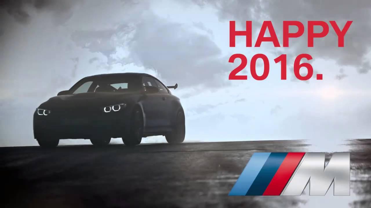 2016 happy new year bmw m