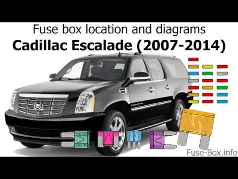 fuse box location and diagrams cadillac escalade 2007. Black Bedroom Furniture Sets. Home Design Ideas