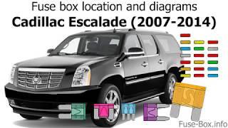 [WLLP_2054]   Fuse box location and diagrams: Cadillac Escalade (2007-2014) - YouTube | Cadillac Escalade Fuse Diagram |  | YouTube