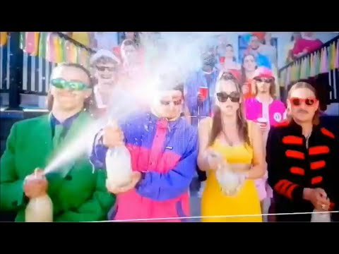 Oliver Tree & Little Big - Turn It Up (feat. Tommy Cash) music video behind the scenes