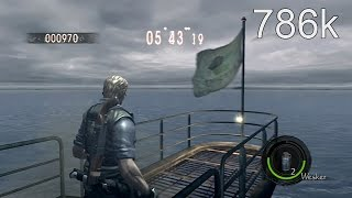 Resident Evil 5 Ship Deck Solo 786k PS3 (Wesker STARS)