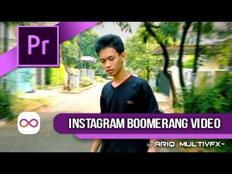 Pr TUTORIAL - Membuat Video Boomerang Secara Manual
