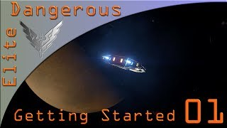 Getting Started in Elite Dangerous on PS4 and Xbox One Ep1
