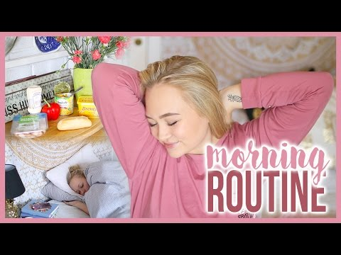 Morning routine for weekends feat Marthe Hjelmeland
