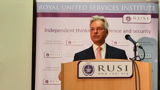 Sir Alan Duncan on the Principles Behind the Middle East Process