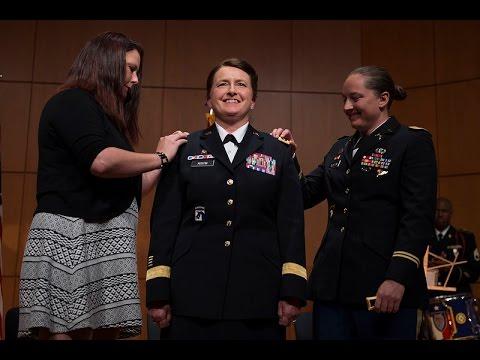 NCNG Major General  Elizabeth Austin Pinning Ceremony