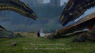 'They're my children'. -- Drogon; Viserion; Rhaegal