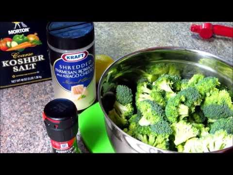 The Best Broccoli Ever! Quick & Healthy Recipe For Baking Broccoli