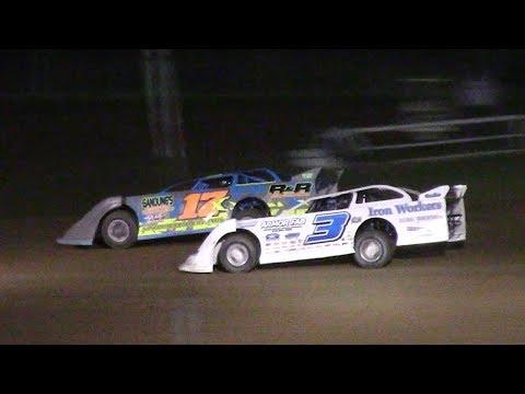 RUSH Crate Late Model Heat Two | McKean County Raceway | 6-20-17