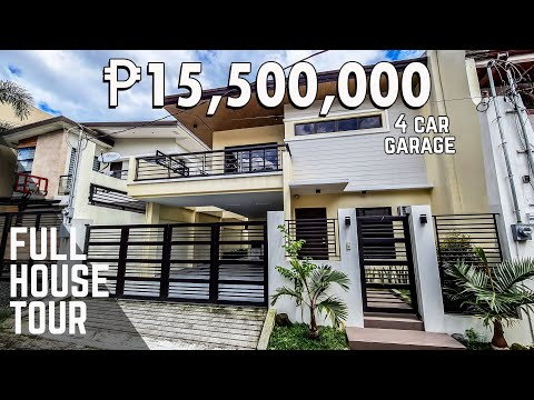 House Tour QCF155   Brand New House and lot for sale in Filinvest, Quezon City