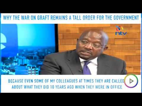 Kipruto Arap Kirwa 'roasts' the Jubilee administration for laxity in the fight against graft