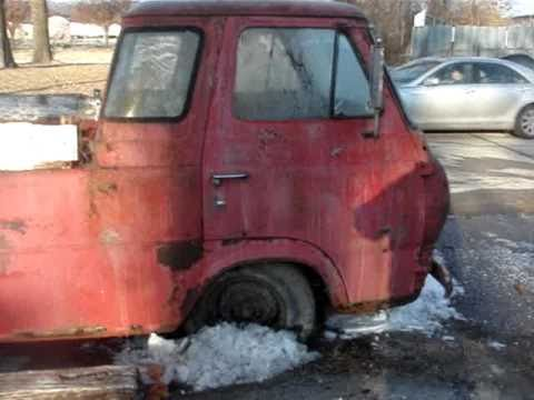 Rare Sixties Ford Econoline Pickup Restore Or Parts Car Youtube