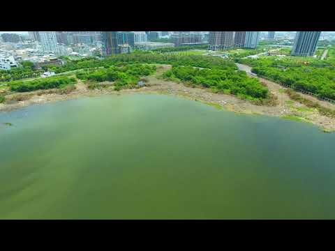 漁光島及未來遊艇碼頭的全景 20180801