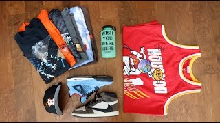 My Entire TRAVIS SCOTT Sneaker and Merch Collection!! *ASTROWORLD*