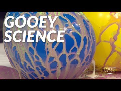 Gooey Science - Cornstarch on 9NEWS