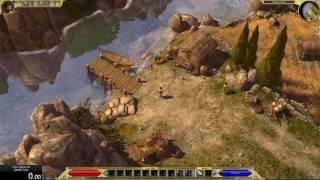 Titan Quest game speed comparison - Immortal Throne and Anniversary Edition
