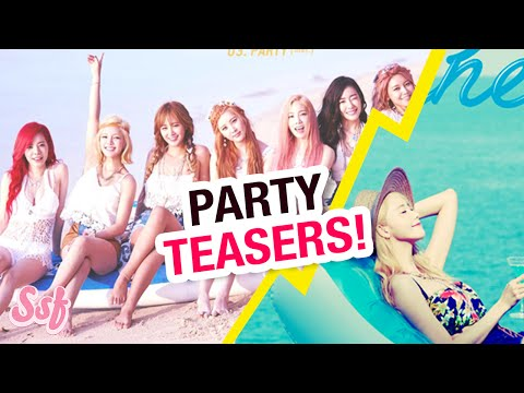 PARTY TEASERS, CHANNEL SNSD SHOW (Girls' Generation) News Video l @Soshified