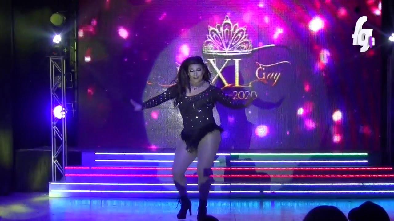 IRINA DBOSH PRUEBA DE TALENTOS MISS XL GAY 2019 - CANAL