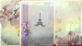 Приглашение на свадьбу Gilliann Paris