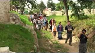 Мы в Изборске. 26 августа 2012г.(Всё лето дети из православного клуба