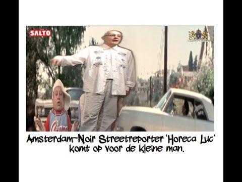 """Mini Me: """"Amsterdam-Noir Streetreporter 'Horeca Luc' komt op voor de kleine man""""."""