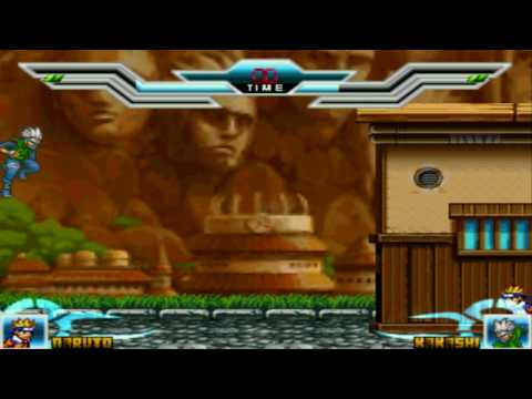 Repeat Jump SuperStars SmashBros Mugen - Naruto Vs  Kakashi