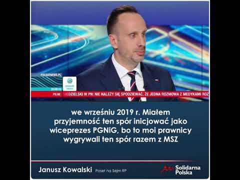 Niemcy są zainteresowani likwidacją polskiego węgla, by sprzedawać nam gaz ziemny z Nord Stream