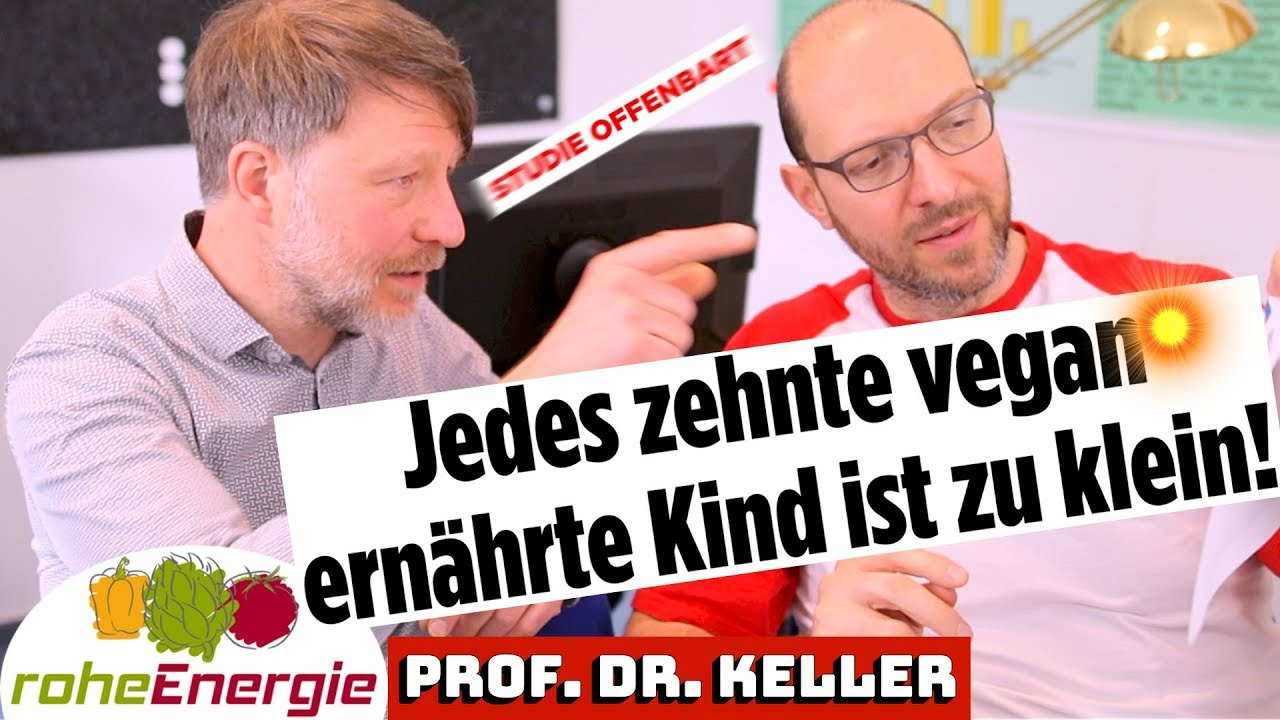 Vegane Kinder. Prof. Dr. Markus Keller klärt auf