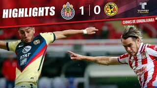 Highlights & Goals | Chivas vs. América 1-0 | Telemundo Deportes