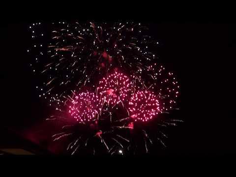 Feuerwerk  135 Jahre FFW Elbingerode & 50 Jahre Partnerschaft SDH Velké Opatovice