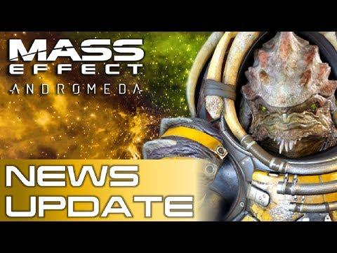 Mass Effect: Andromeda News | Hope For DLC?, Sales Figures, Novels, Reyes Background Details & More!