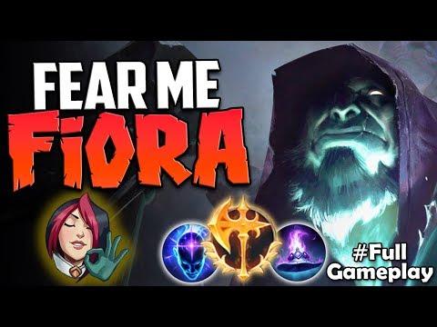 FEAR ME FIORA   TOP LANE DESTROYER   Conqueror Yorick vs Fiora TOP   NA Unranked to Diamond #10