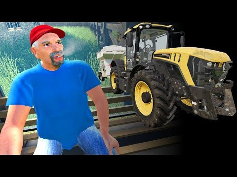 MAN LEFT AMAZED BY TRACTOR - Farming Simulator 19 MP (Suedhemmern) thumbnail
