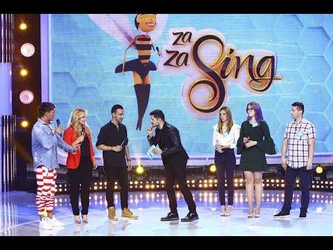 Dorian Popa, Paula Chirilă şi Daniel Max Dragomir, vedetele din această ediție Za Za Sing