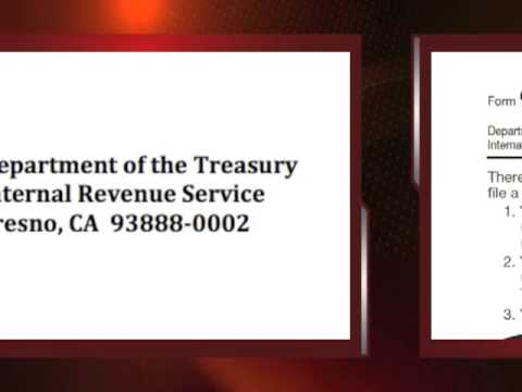 Where to File Form 1040 - California