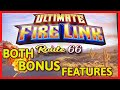 HIGH LIMIT Ultimate Fire Link Route 66 🔥$30 Bonus Round Slot Machine Casino Both Bonus Features