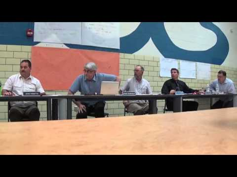 Blanchester School Board Meeting April 2016