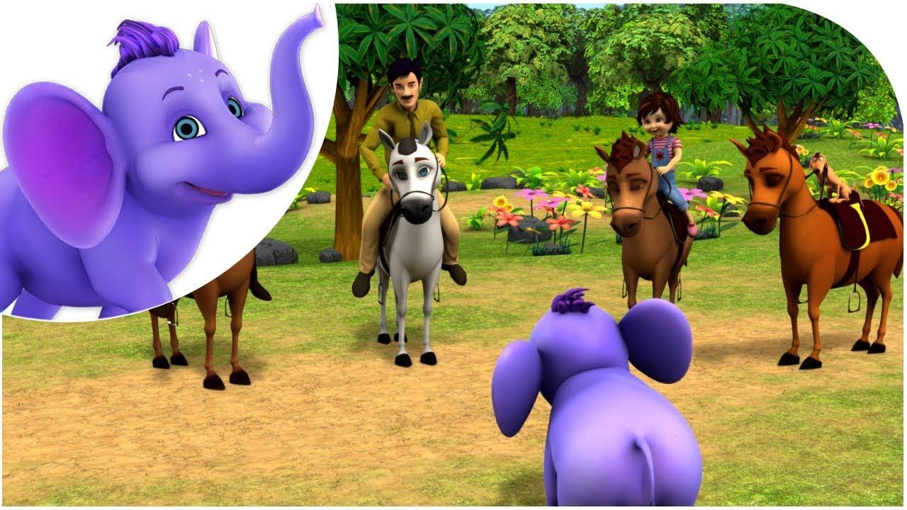 Download గుడు గుడు గుంజం | Gudu Gudu Gunjam | Telugu Nursery Rhyme for Kids | 4K | Appu Series