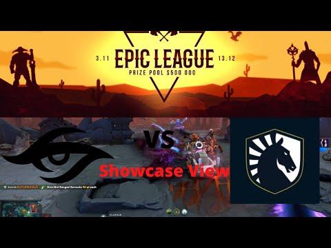 TEAM SECRET VS TEAM LIQUID |SHOWCASE VIEW| GROUP STAGE | EPIC LEAGUE DIVISION 2