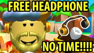 FEW MINUTES LEFT - FREE BILLIONAIRE'S HEADPHONE GIVEAWAY FROM ROBLOX - THE GREAT MIN