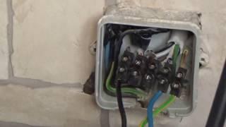 видео подключение индукционной плиты