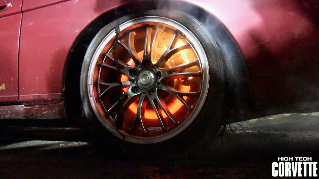 Burnout Until The Brakes Catch Fire Youtube