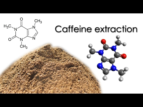 Caffeine extraction from coffee