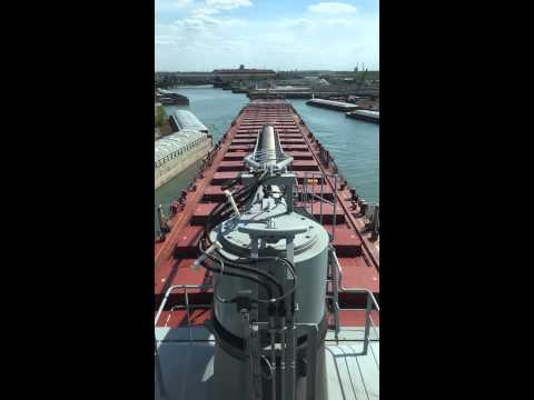 Taking the Thunder Bay up the Calumet River