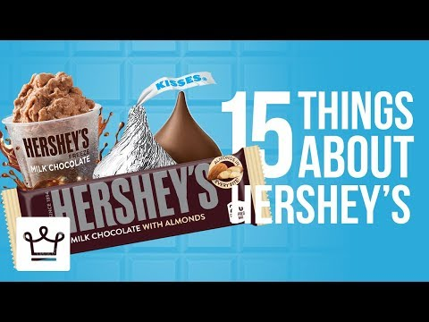 15 Things You Didn't Know About HERSHEY'S