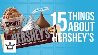 Gambar cover 15 Things You Didn't Know About HERSHEY'S