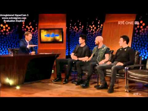 The Script on the Late Late Show interview 2014