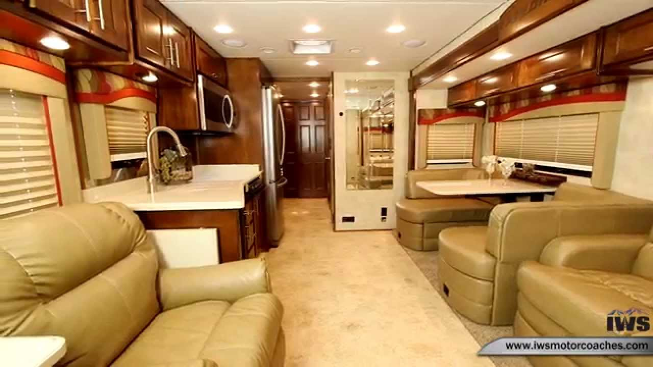 Iws Motor Coaches 2015 Renegade Bunk Model Interior 0311